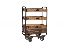 Lorena Vintage Trolley steel finishing
