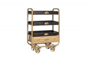 Colusa Vintage Trolley gold finishing
