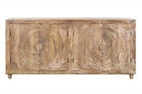 Imperial Vintage Dresser with carved doors