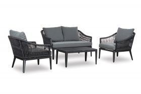Primavera Livingset met coffee table, inclusief alle zit- en rugkussens