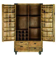 Balaton Vintage Wine Cabinet