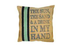 The Sun Vintage Cushion