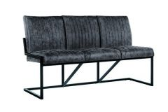 Treviso Bench 3-seater Jackson 101 Antracite