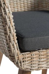 Cushion for Mika Outdoor Diningchair Beige