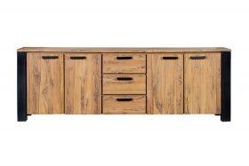 Woodstock Dresser 4 doors, 3 drawers
