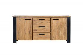 Woodstock Dresser 2 doors, 3 drawers