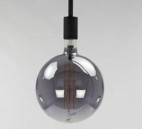 Lichtbron LED Ø20,0 - E27 8W dimbaar / Smoke Grey