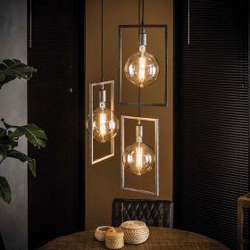 Rectangle Hanglamp 3L