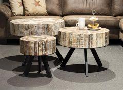 Vintage coffee table mosaic